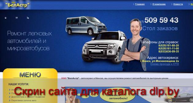 Автомобильные  коврики - belastr.by