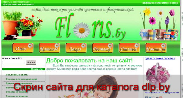 Вазы  для цветов - Цветы, флористика, букеты, домашние растения, удобрения... - floris.by