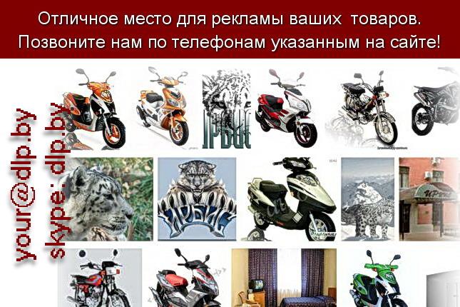 Запрос: «Irbis», рубрика: Марки мотоциклов, мопедов, скутеров