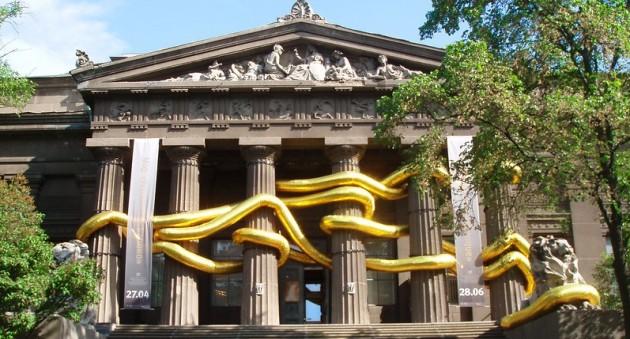 В Киеве в Музее изобразительного искусства проходит выставка, посвященная одному из крупных городов Турции Стамбулу под названием «На том берегу»
