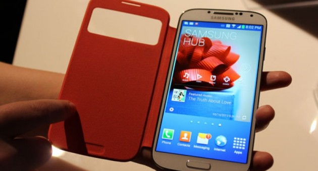 Чехол и защитная пленка на Samsung Galaxy S4