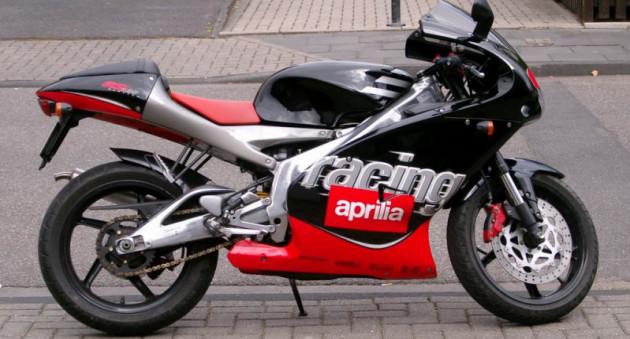 Aprilia RS 125 мото