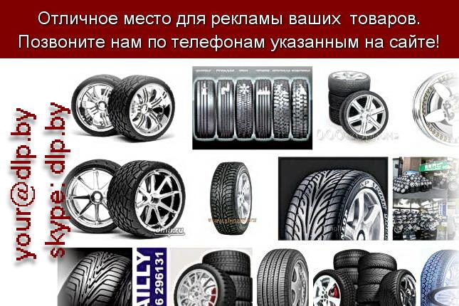Запрос: «шины зимой», рубрика: Автозапчасти
