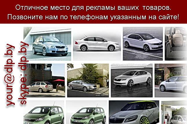 Запрос: «шкода», рубрика: Марки легковых автомобилей
